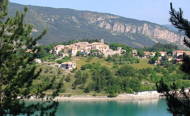 Saint Julien du Verdon village of Verdonverdon village